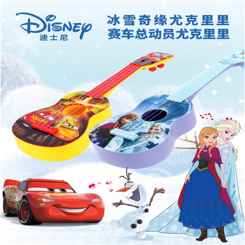 Jouet de musique Disney uklele princesse princesse simulation de guitare peut jouer des jouets musicaux pour enfants