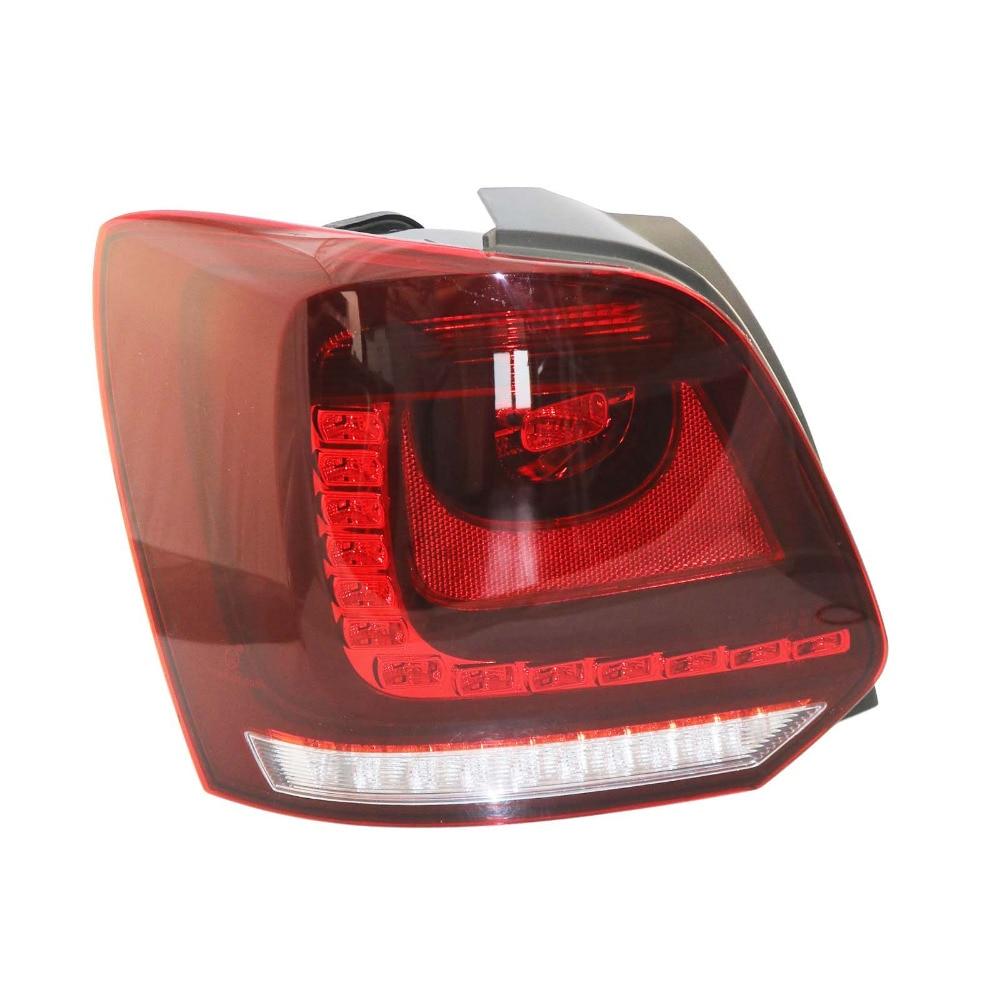 Новый для VW Поло 2010 2011 2012 2013 левый LED задний фонарь заднего света 6R0945095