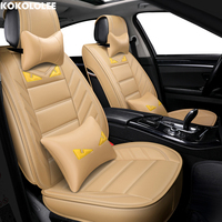[KOKOLOLEE] auto car seat covers For mercedes w124 toyota rav4 chevrolet lacetti smart fortwo opel astra j h g car accessories