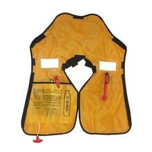 fessional Manual Inflatable Life Jacket Swimwear Adult Swiming Fishing Life Vest Water Sports Swimming Survival Jacket цена