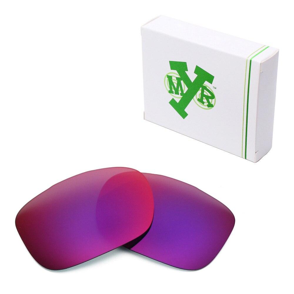 Mryok POLARIZADA Lentes de Reposição para óculos Oakley Dois óculos de Sol  Rosto Sol Da Meia Noite 30e81837a0