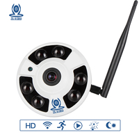 ZSVEDIO IP Camera Wi Fi CCTV HD 720P 960P 1080P Surveillance Camera 360 Degree VR Panorama