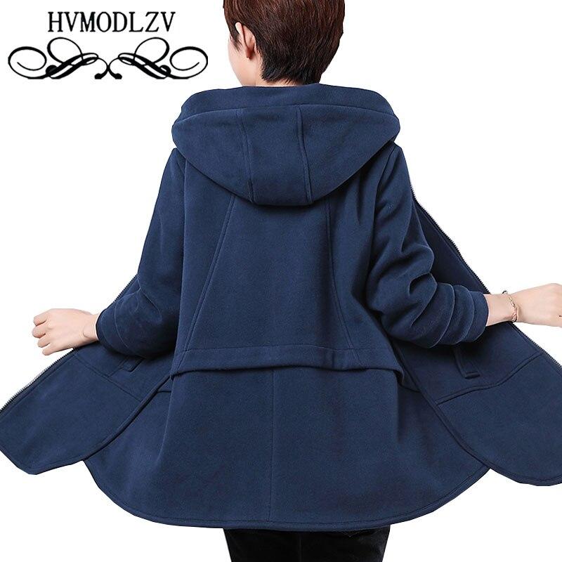 Украина среднего возраста для женщин; Большие размеры с капюшоном осень-зима хлопок пальто 2017 куртка толстые женские куртки тонкий Femme верх...