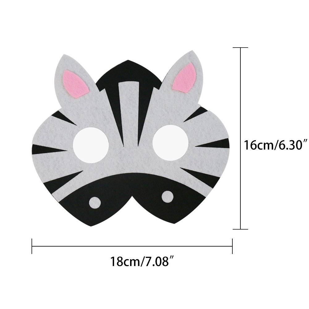 Mask Super Hero zebra Large Hippo Sheep Animal Mask Kids children Costume Star Wars DIY Masquerade Eye Mask Cosplay DIY Xmas in Party Masks from Home Garden