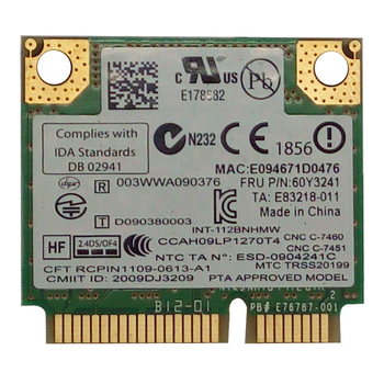 For Lenovo THINKPAD T410 SL410 X201i Intel Link 1000 wireless network card 112BNHMW