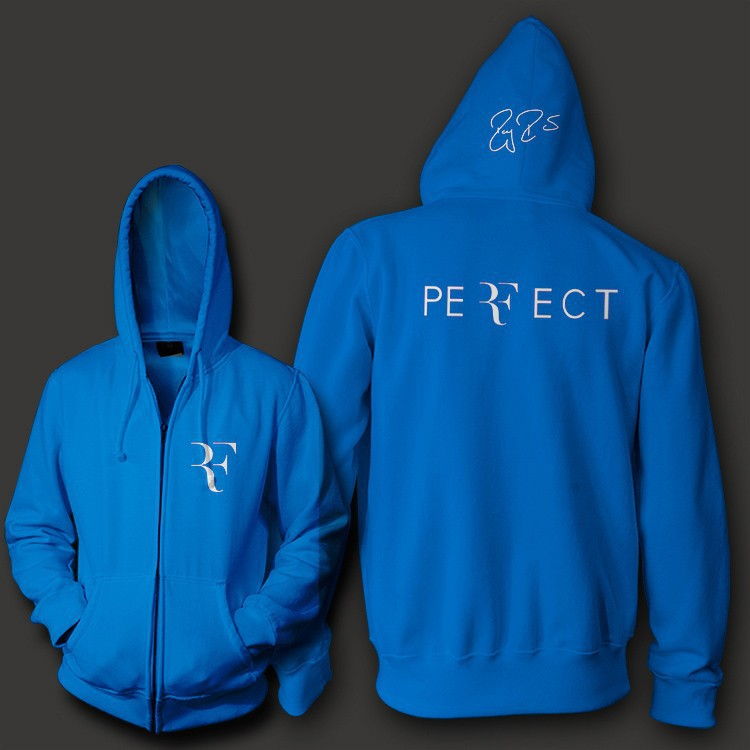 Roger-Federer-signature-RF-logo-perfect-men-unisex-zip-up-hoodie-Sweatshirt-10-3oz-weight-fleece2