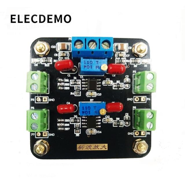 Moduł ICL7650 wzmocnienie słabego sygnału wzmacniacz sygnału DC wzmacniacz Chopper Dual