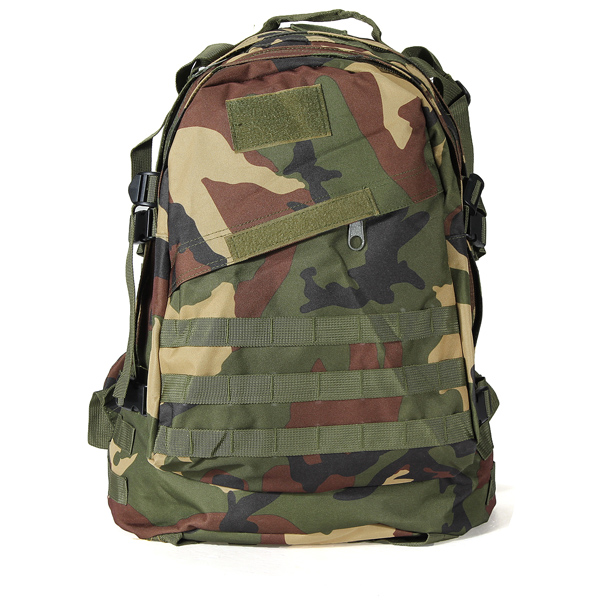 40L Outdoor Military Tactical Rucksack Backpack Hiking Camping Trekking Bag - Jungle camouflage