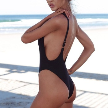 Classic High Cut One-Piece Swimsuit 2