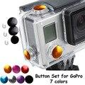 Go Pro Accessories 3 PCs/set TMC Aluminum Anodized Color Button Set  for GoPro Hero 3+ plus sports camera