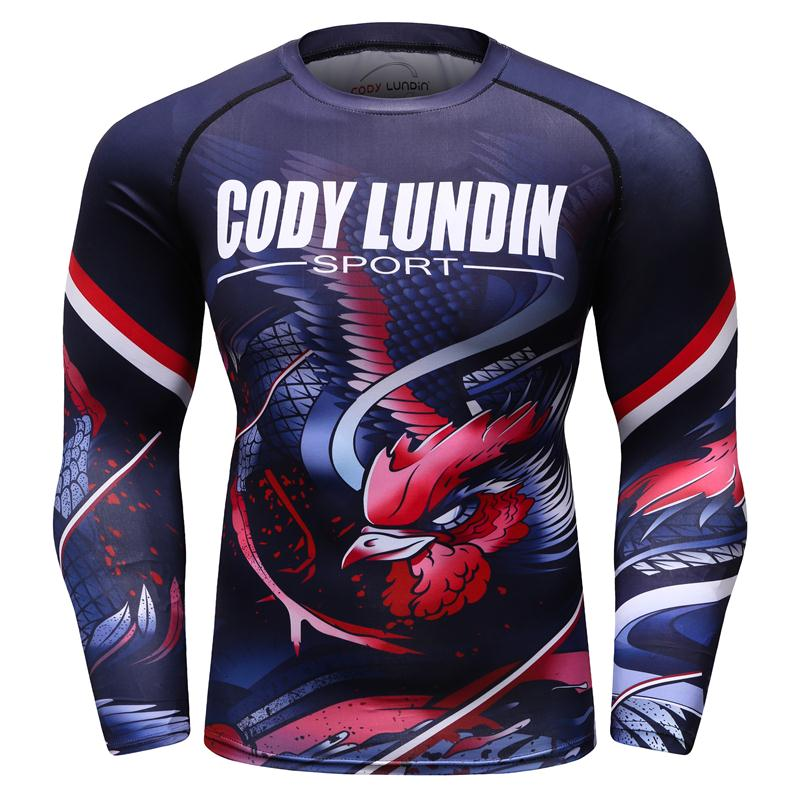 Men/'s Tight T-shirt Long Sleeves Tee Compression Sport 3D Fitness Cycling Tops
