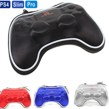 цена на Shockproof Travel Carrying Pocket Protective Pouch Bag Case Hard Pack for Sony PlayStation 4 PS4 Gamepad Wireless controller
