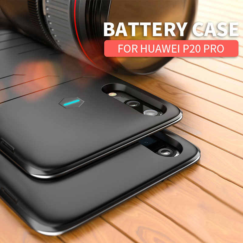 Topzero 6800mah Ultra thin Power bank Case For Huawei P20 Pro Portable Fast Battery Charger Phone Case For Huawei P 20 Pro Cover