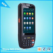 Free Shipping Portable Android PDA 1D 2D Mobile Data Collector Terminal With Charger 4'' Screen 16G ROM/Wifi/BluetoothNFC Reader
