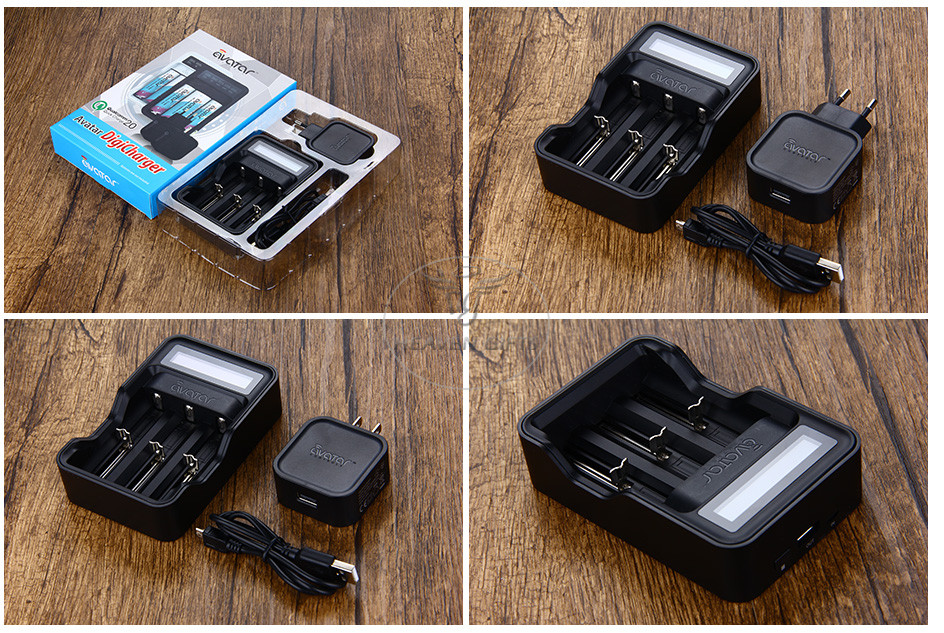 Avatar Intelligent Battery Digicharger Kit 6