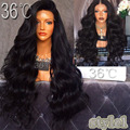 200 Density Brazilian Virgin Full Lace Human Hair Wig Best Lace Front Wigs Glueless Full Lace Wig With Baby Hair For Black Women