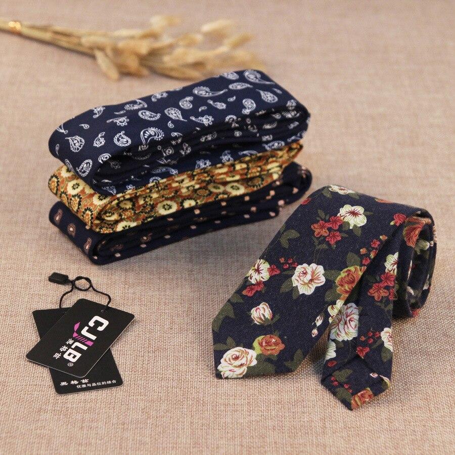 22 colores mens diseñador de moda casual lazos flacos Delgado flor ...