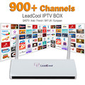 IPTV Streaming Box Leadcool Android Wifi 1G/8G Italy Portugal French Channels Receiver Europe Arabic Sky IPTV Package Include
