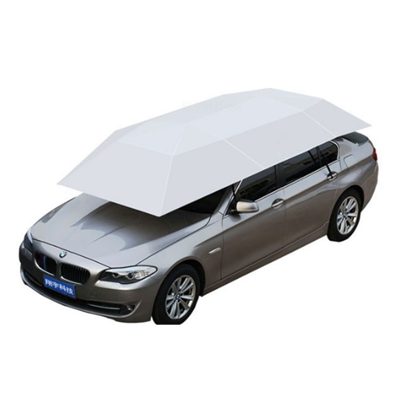 Outdoor Fully Automatic Waterproof Car Umbrella Automobile Cover Remote Control Portable