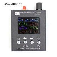 English Verison N1201SA UV RF Vector Impedance ANT SWR Antenna Analyzer Meter Tester 35MHZ 2 7GHz