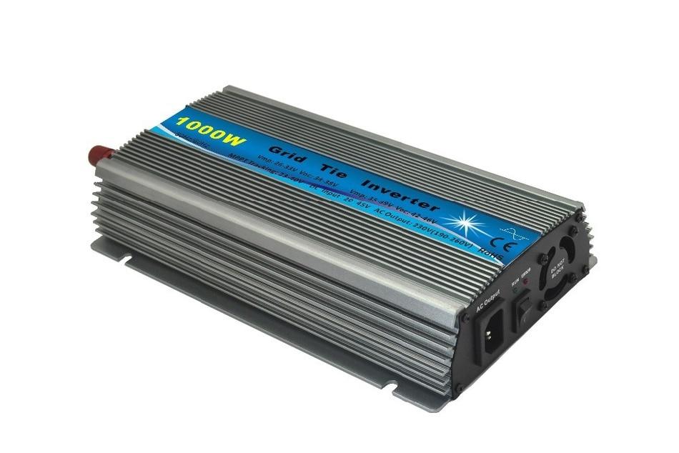 20-45V Dc Input Grid Tie Inverter 1000w Indoor Design For Small Solar Power System