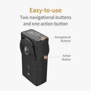 Image 4 - YI 360 VR カメラデュアルレンズ 5.7 18K こんにちは解像度パノラマカメラ電子画像安定化、 4 18K インカメラステッチ