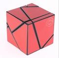 Fangshi 2 x 2 Ghost cubo negro cubo mágico 2 x 2 x 2 Ghost con Red de etiqueta de conjunto