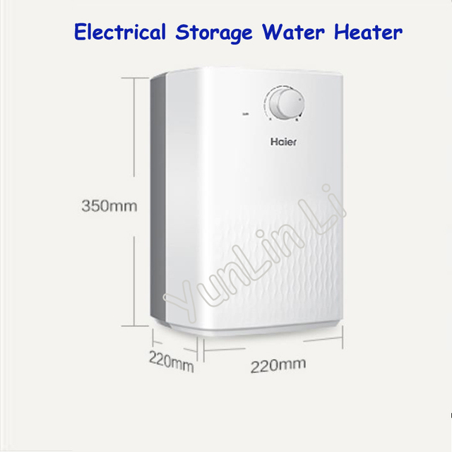 5L Water Heater Electrical Storage Water Heater for Kitchen Water Heating Equipment EC5U
