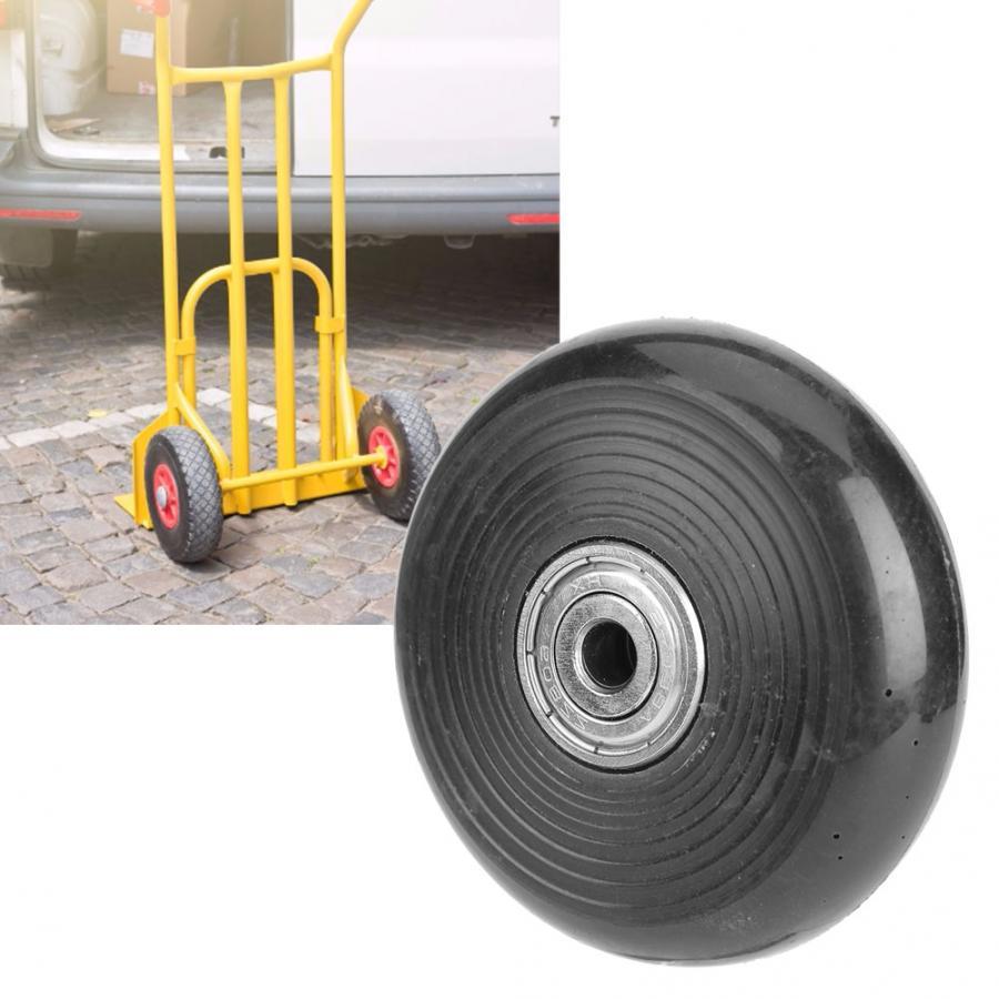 608ZZ 2.5in Cuscinetto Caster Ruote di Ricambio PU Ruote Per Carrelli Trolley Accessori Ferramenta per mobili 64*19*6mm