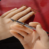 silicone male hands,Sex Doll Real Skin,realistic mannequin hands, ring display Beautiful men Hands H06
