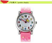 3D Cartoon dress Design Analog Band Little Boys Girls Children Wrist Kids Watches,Waterproof