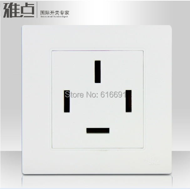 free shipping ART DNA A30 C15 wall switch socket 3 phase 4 wire ...
