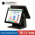 Dual Screen 15+15 Inch POS Terminal All In One Pos System Touch Screen PC