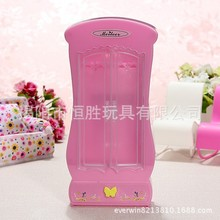 for Barbie doll accessories furniture  wardrobe fittings DIY educational toys play house wardrobe