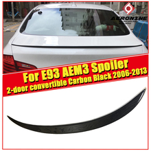 M3 Style Car Styling Carbon Fiber Auto Rear Spoiler Wing For BMW E93 2-door Convertible 325i 330i 335i Trunk 2006-2013