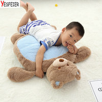 80*60*12cm bear/dog/rabbit pillow baby plush Cushion kids gift Cute Animals sitting chair Infant seat learn sit play baby toys