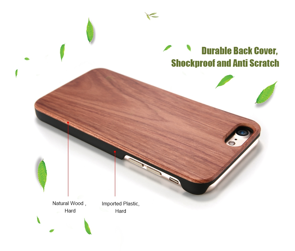 For iPhone 7 iPhone 7 Plus Case Natural Bamboo Wooden Phone Cases For iPhone 6 6S Plus 6 Plus (5)
