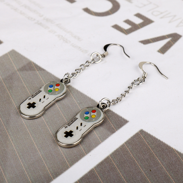 Game Controller Drop Earrings 1