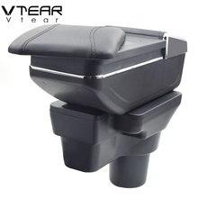 Vtear для hyundai solaris 2 accent armrest box центральный магазин содержание коробка держатель стакана, пепельница интерьер автомобиля-Стайлинг 2017-2018