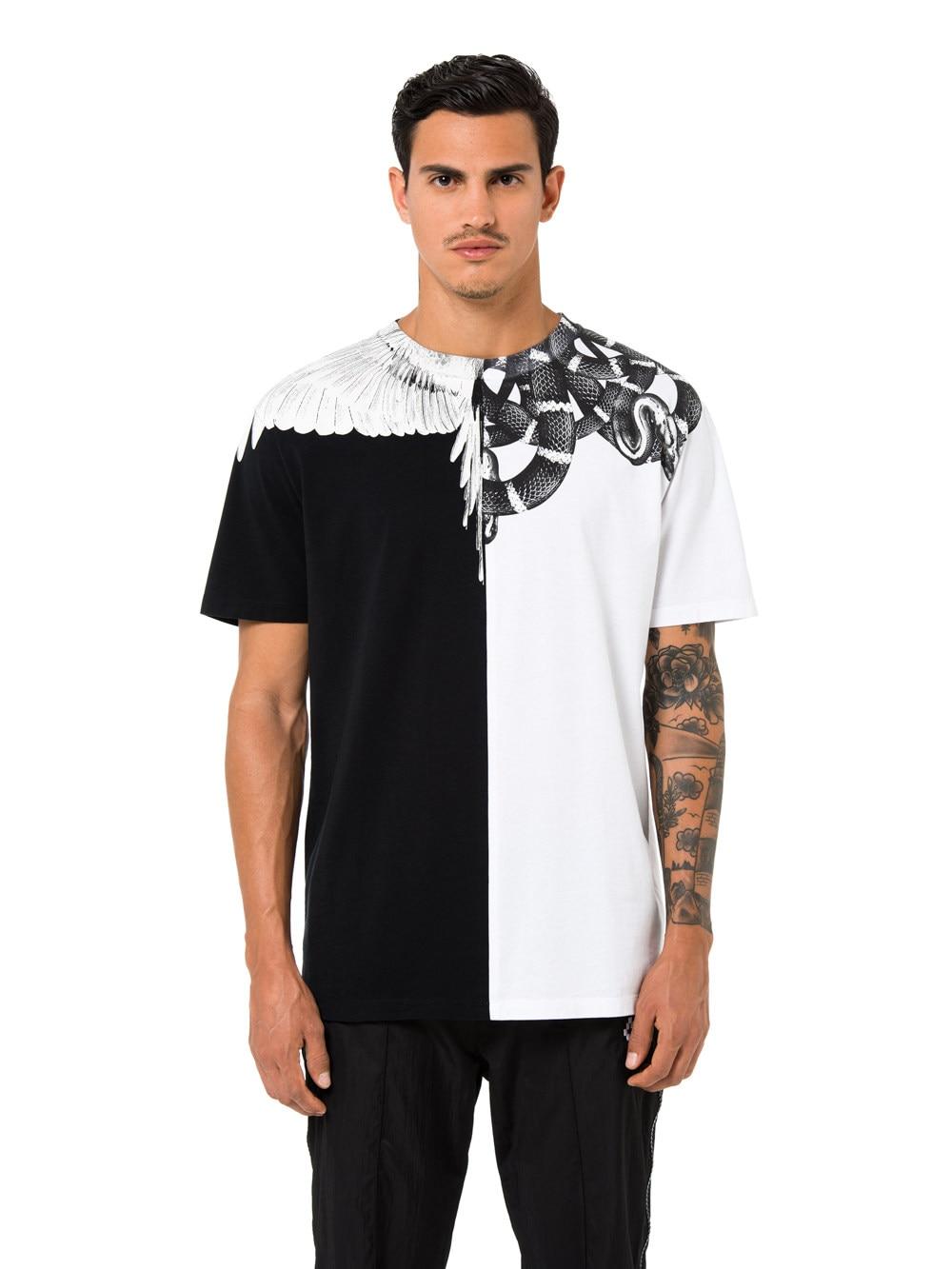 fe0da4fd56c 2018 Brand New Marcelo Burlon T Shirt Men Women 1 1 County Of Milan Snake
