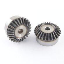 1 mod15/16/18/20/25/30 зубы конического зубчатого колеса 90 градусов 1: 1 фрезерный станок с ЧПУ