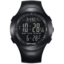 NORTH EDGE Men Digital Watches Outdoor watch 10ATM Fishing Weather Altimeter Barometer Thermometer Altitude Climbing Hiking Hour