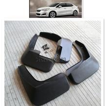 Set Auto Paraspruzzi Per Il 2013-2017 Citroen C4 Berlina C4L C4 L Paraspruzzi Paraspruzzi Mud Flap Parafanghi fender 2014 2015 2016