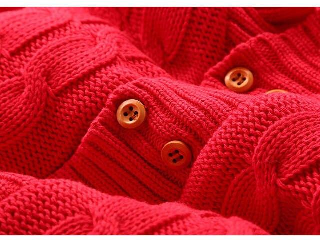 e0220243ee16 Plus Velvet Winter Warm Baby Romper Brand Cotton Newborn Baby Boy Winter  Rompers For 0-