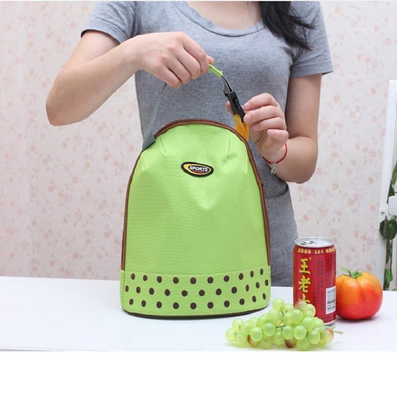 Portable Picnic Thick Insulated Cooler Food Lunch Preservation Case Handbag Waterproof Women Kids Men Travel Canvas Storage Bag