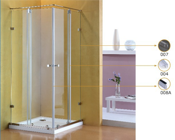 8 Mm 004 Glass Shower Door Seal Strip Plastic Sealing Shower Enclosures In  Bathroom Accessories China