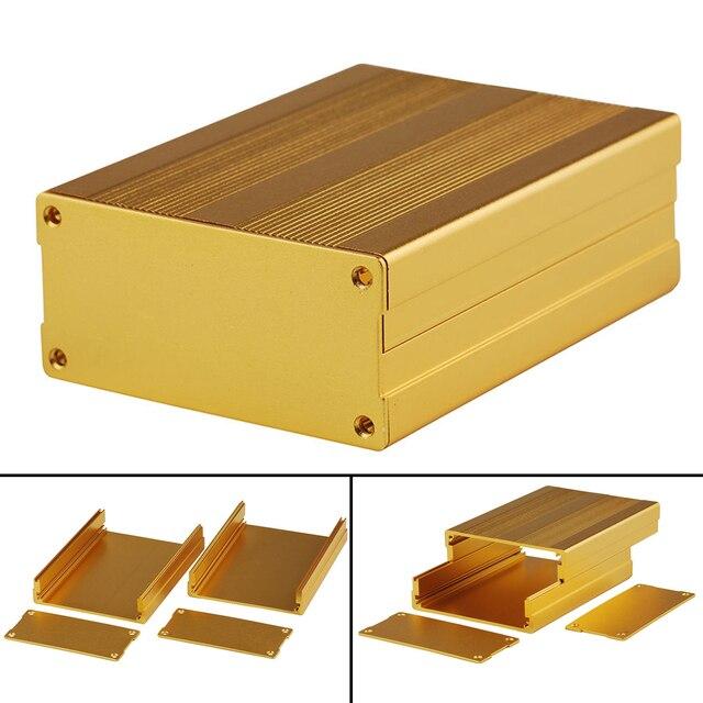 Gold Extrudierten Aluminiumgehäuse Elektronische Projekt ...