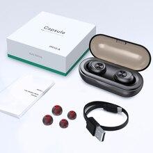 ANOMOIBUDS IP010-A Беспроводной Bluetooth наушники СПЦ вкладыши Авто спаривания Шум отмена V5.0 стерео вызова спортивные наушники