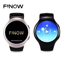 Finow K9 X3 3G Smart Uhr Android 4.4 Bluetooth WCDMA WiFi Sim-karte SmartWatch Telefon für iOS & Android Pulsmesser