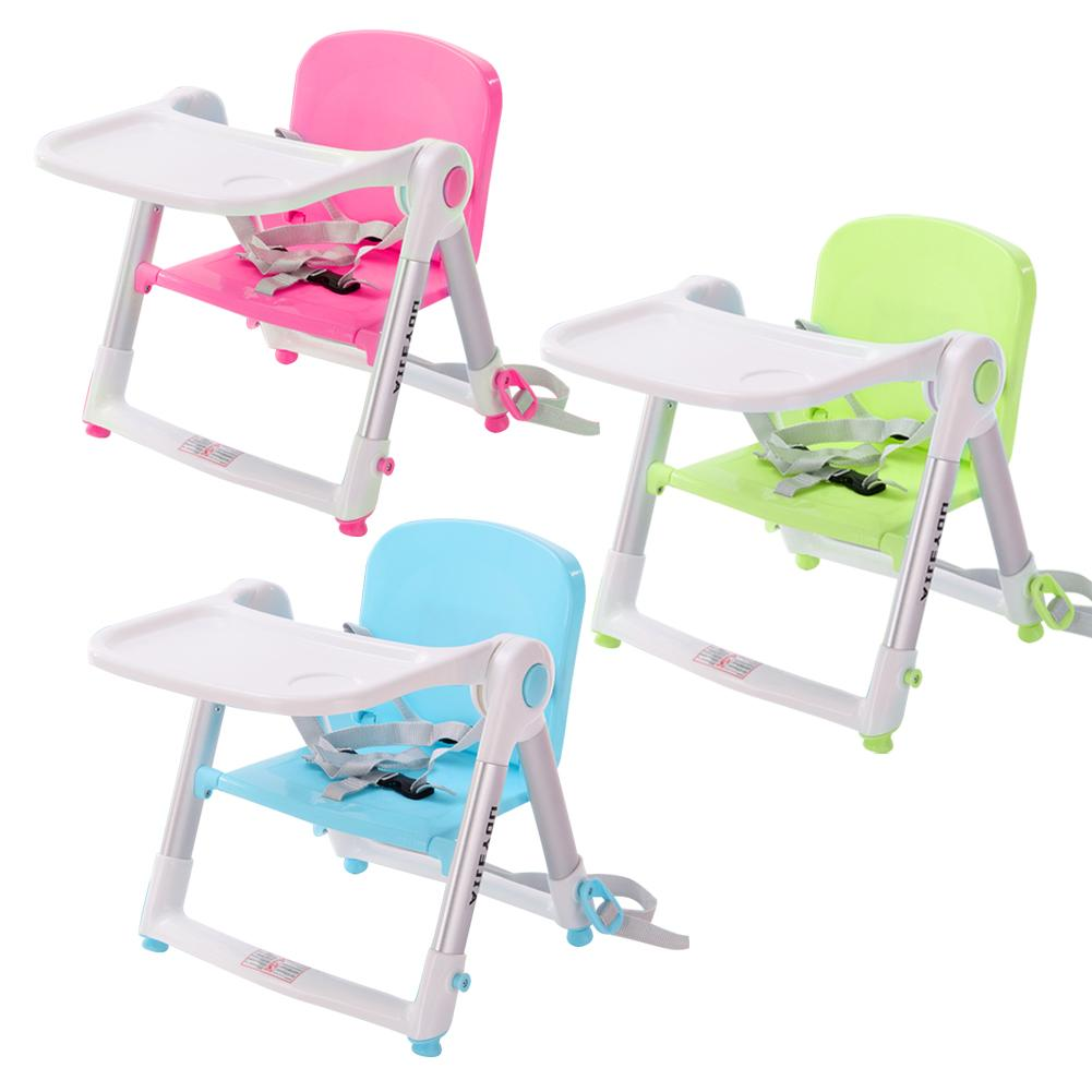 Baby Dining Chair Multi-functional Children's Folding Baby Beat Portable  Dining Table Stool 0-3 Y Baby Furniture